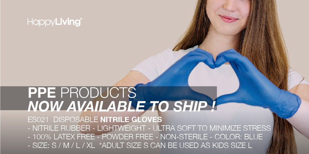 PPE Products Now Available to Ship
